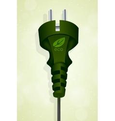 power eco plug vector image