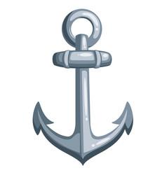 cartoon ship anchor vector image