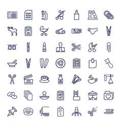 49 clip icons vector