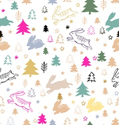 Christmas pattern85 vector