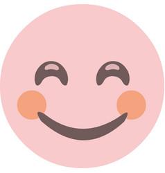emoticon expression vector image