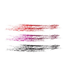 Grunge brushes line vector