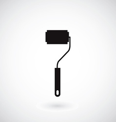 Icon of a small roller vector image