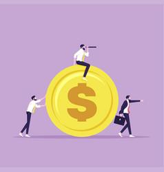 investors-business future vision individual vector image