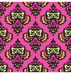 Damask royal seamless pattern vector image vector image