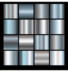 silver backgrounds vector image vector image