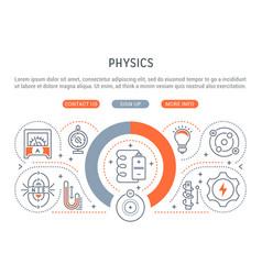 Banner physics vector