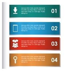 Infographic icon design vector image