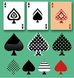 Spades ACE free set vector