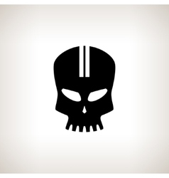 Sport Moto Speed Skull Isolated vector