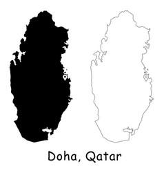 1141 doha qatar vector