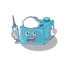 A lego brick toys hospitable nurse character vector
