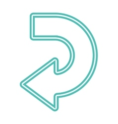 Arrow abstract logo template vector