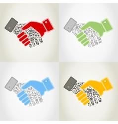 Hand9 vector image