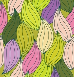 pattern leaf seamless2 vector image vector image
