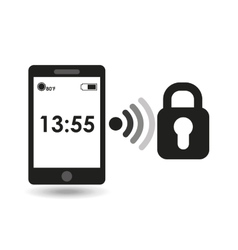 Smartphone display protection connection media vector
