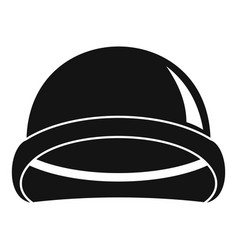 special force helmet icon simple style vector image