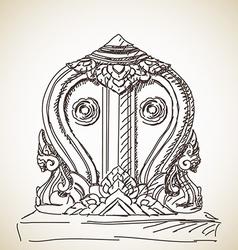 Symbol buddhism vector