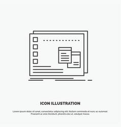 Window mac operational os program icon line gray vector