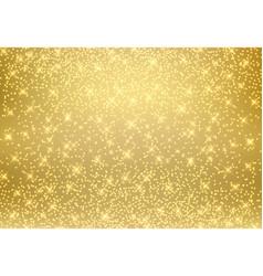 gold glitter dust texture shining on golden vector image