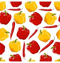 ripe pepper vector image vector image