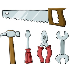tools symbol vector image vector image