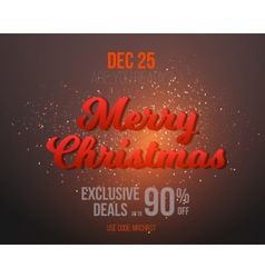 Christmas Holiday Season Poster vector