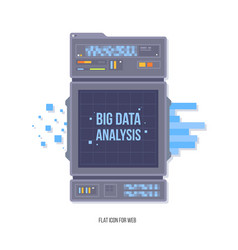 Data network management big data machine learning vector