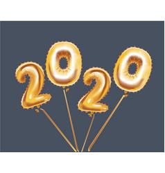 happy new 2020 year vector image