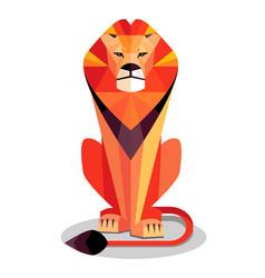 Lion sphinx vector