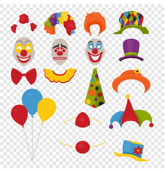 Party birthday or 1th april - fool s day - vector
