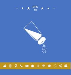 Salt or pepper shaker vector