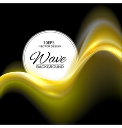 Gold abstract background vector image vector image