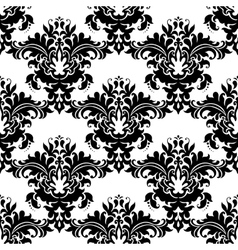 Heavy ornate seamless arabesque pattern vector image vector image