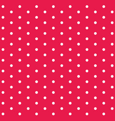 Background template design with red polkadot vector
