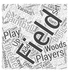 BWPB best place to play paintball Word Cloud vector