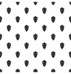 Military shield pattern simple style vector