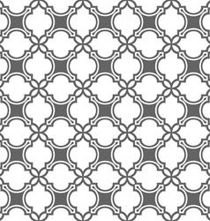 Monochrome seamless pattern in oriental style vector