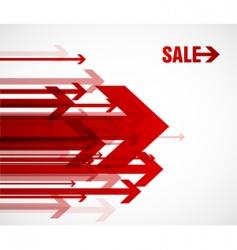 sale arrows vector image