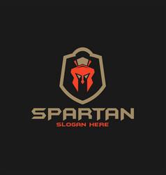 Spartan logo design inspiration vector