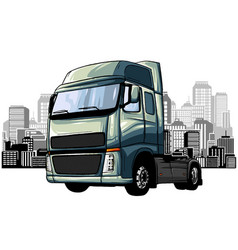 Truck transport delivery land water and air vector