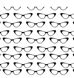 woman fashion glass pattern vector image