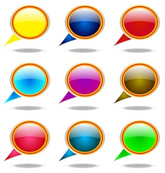 You tell Balloon Arrows Elements Information Point vector