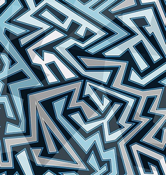 blue stripes seamless pattern vector image