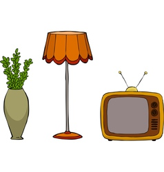 Furniture postmodernism vector