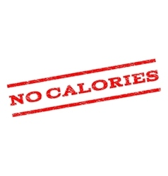No calories watermark stamp vector