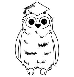 Wisdom symbol vector image vector image