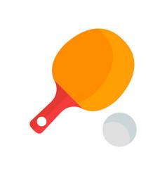 a ping pong vector image