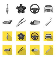 Auto and part symbol vector