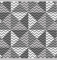 Background of monochrome geometric figures vector